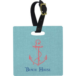 Chic Beach House Luggage Tags