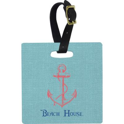 Chic Beach House Luggage Tags