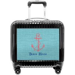 Chic Beach House Pilot / Flight Suitcase