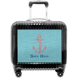 Chic Beach House Pilot / Flight Suitcase