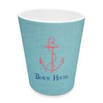 Chic Beach House Plastic Tumbler 6oz