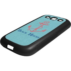 Chic Beach House Rubber Samsung Galaxy 3 Phone Case