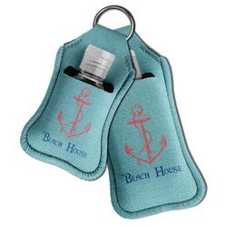 Chic Beach House Hand Sanitizer & Keychain Holder