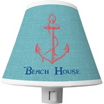 Chic Beach House Shade Night Light