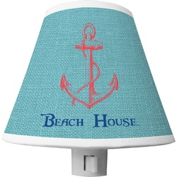 Chic Beach House Shade Night Light