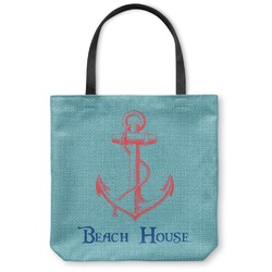 Chic Beach House Canvas Tote Bag