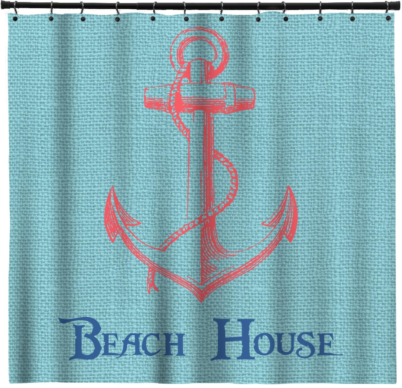 Chic Beach House Shower Curtain