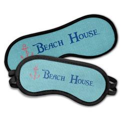 Chic Beach House Sleeping Eye Masks