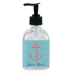 Chic Beach House Soap/Lotion Dispenser (Glass)