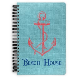 Chic Beach House Spiral Bound Notebook