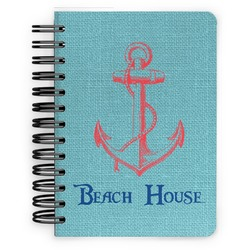 Chic Beach House Spiral Bound Notebook - 5x7