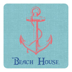 Chic Beach House Square Decal - Custom Size