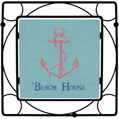 Chic Beach House Trivet