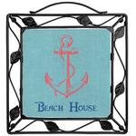 Chic Beach House Trivet