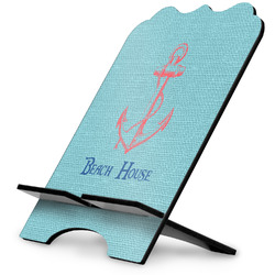 Chic Beach House Stylized Tablet Stand
