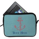 Chic Beach House Tablet Case / Sleeve