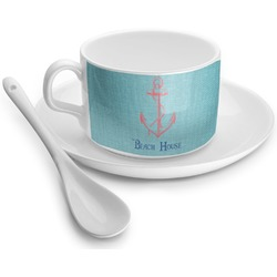 Chic Beach House Tea Cups