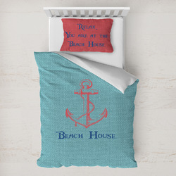 Chic Beach House Toddler Bedding