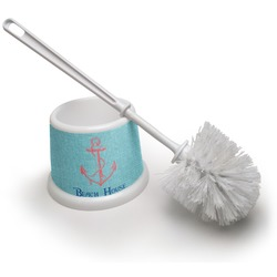 Chic Beach House Toilet Brush