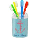 Chic Beach House Toothbrush Holder