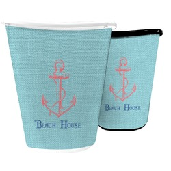 Chic Beach House Waste Basket