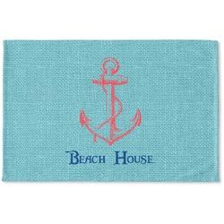 Chic Beach House Woven Mat