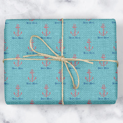 Chic Beach House Wrapping Paper