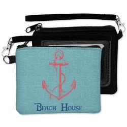 Chic Beach House Wristlet ID Case