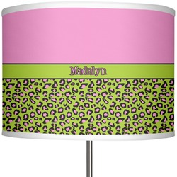 Pink & Lime Green Leopard 13