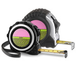 Pink & Lime Green Leopard Tape Measure (Personalized)