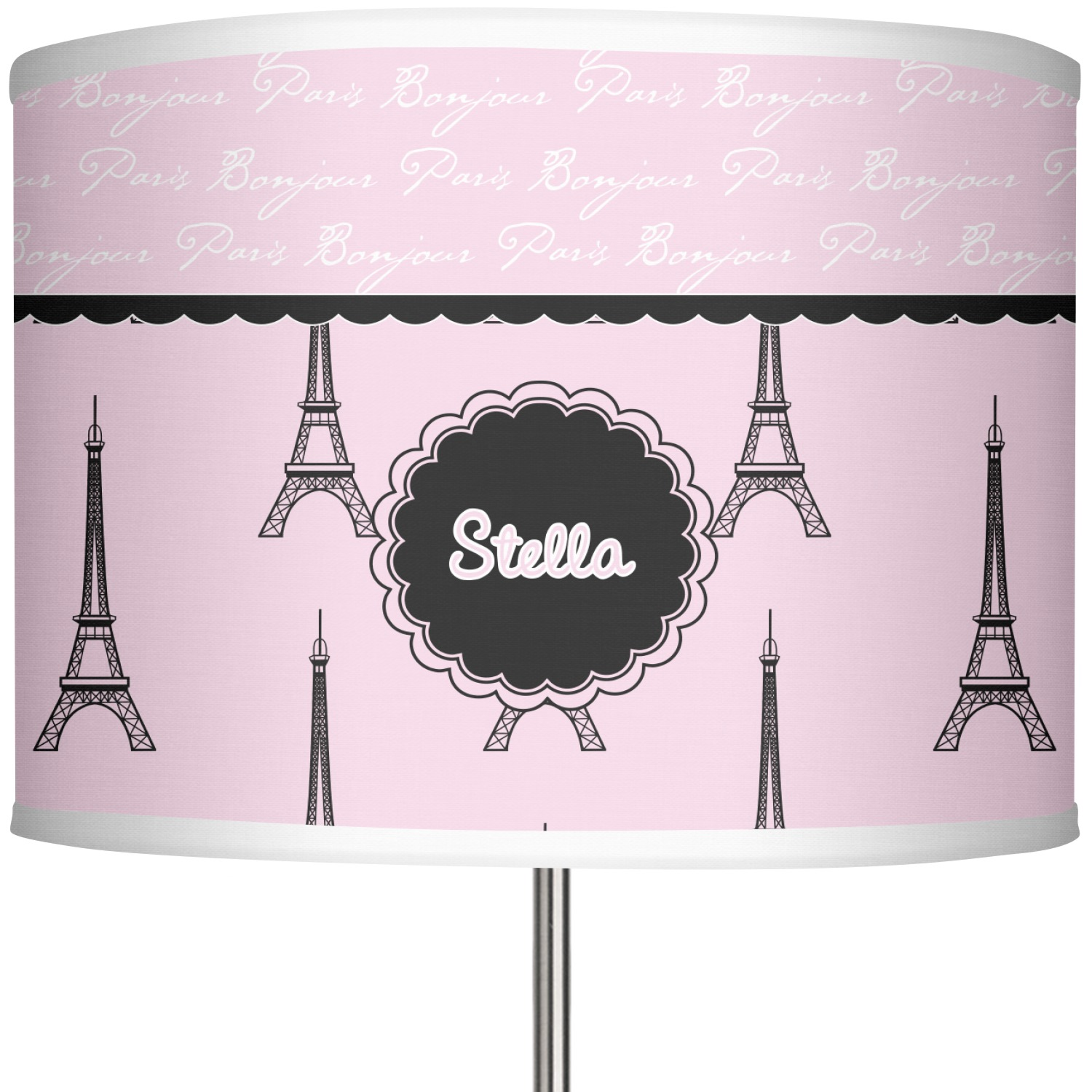 Paris Eiffel Tower 13 In Drum Lamp Shade