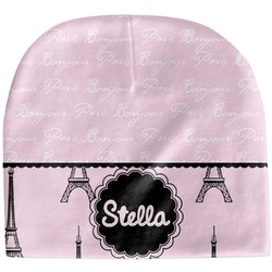 Paris & Eiffel Tower Baby Hat (Beanie) (Personalized)