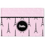 Paris & Eiffel Tower Woven Mat (Personalized)