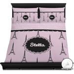 Paris & Eiffel Tower Duvet Covers (Personalized)