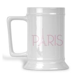 Paris & Eiffel Tower Beer Stein (Personalized)