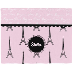 Paris & Eiffel Tower Placemat (Fabric) (Personalized)