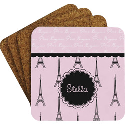 Paris & Eiffel Tower Coaster Set (Personalized)