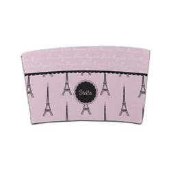 Paris & Eiffel Tower Coffee Cup Sleeve (Personalized)