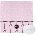 Paris & Eiffel Tower Wash Cloth (Personalized)