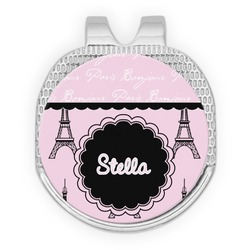 Paris & Eiffel Tower Golf Ball Marker - Hat Clip