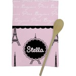 Paris & Eiffel Tower Kitchen Towel - Full Print (Personalized)