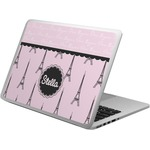 Paris & Eiffel Tower Laptop Skin - Custom Sized (Personalized)