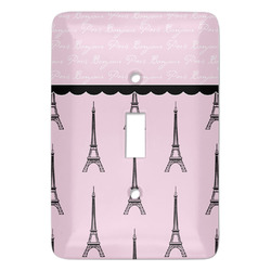 Paris & Eiffel Tower Light Switch Covers - Multiple Toggle Options Available (Personalized)