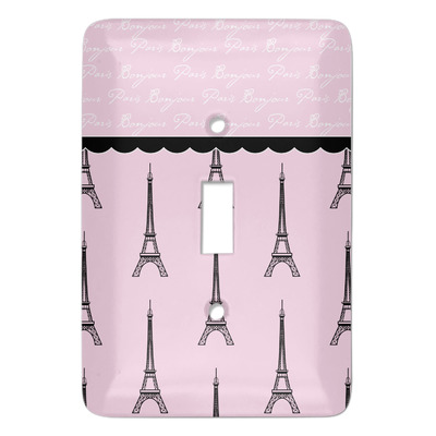 Paris & Eiffel Tower Light Switch Covers (Personalized)