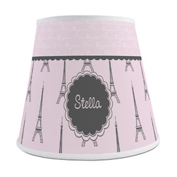 Paris & Eiffel Tower Empire Lamp Shade (Personalized)