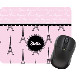 Paris & Eiffel Tower Mouse Pad (Personalized)