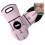 Paris & Eiffel Tower Neoprene Oven Mitt (Personalized)