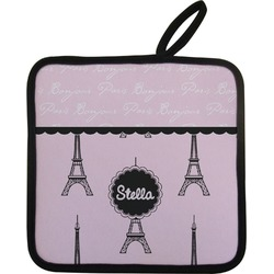 Paris & Eiffel Tower Pot Holder (Personalized)
