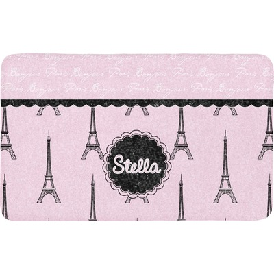 Paris & Eiffel Tower Bath Mat (Personalized)