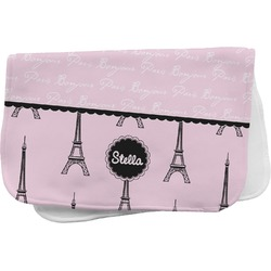 Paris & Eiffel Tower Burp Cloth (Personalized)